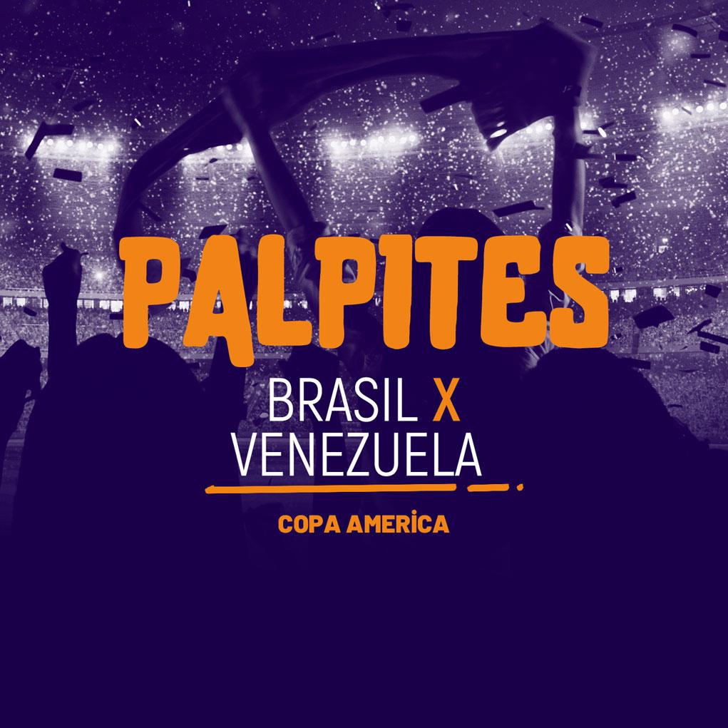 Brasil x Venezuela (13/06)