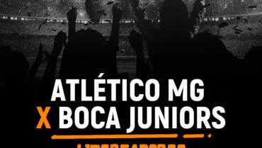 Atlético MG x Boca Juniors (20/07)
