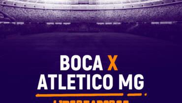 Boca Juniors x Atlético MG (13/07)