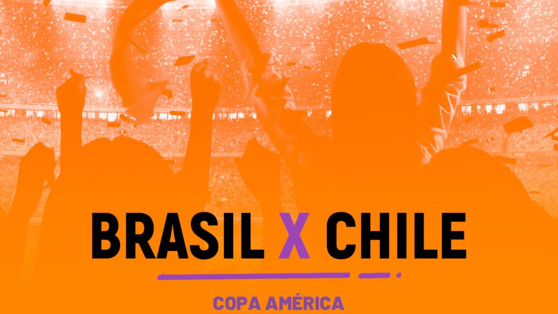 Brasil x Chile (02/07)
