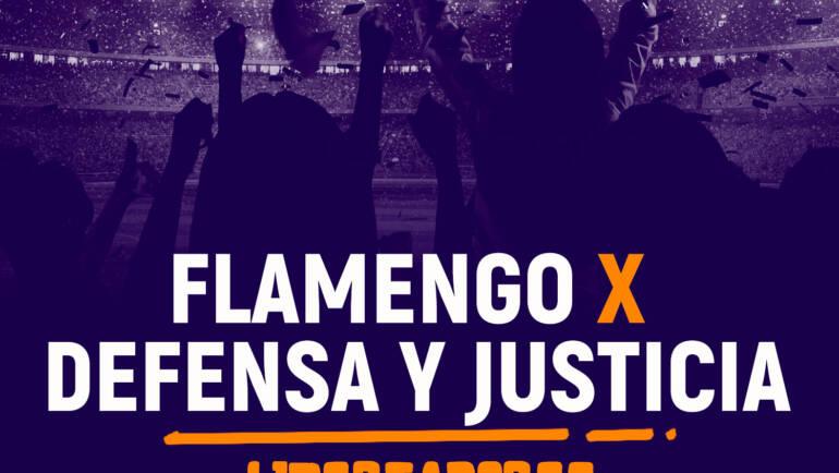 Flamengo x Defensa y Justicia (21/07)