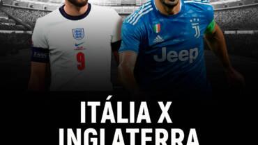 Itália x Inglaterra (11/07)