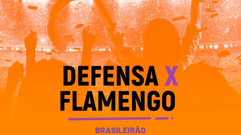 Defensa y Justicia x Flamengo (14/07)