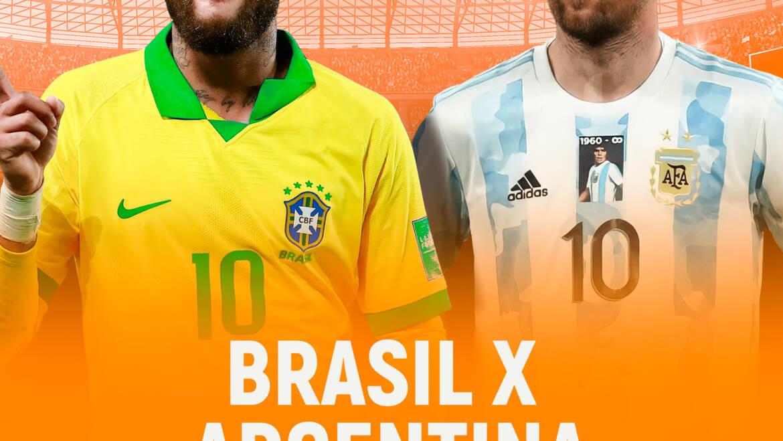 Brasil x Argentina (10/07)