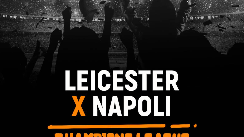 Leicester x Napoli (16/09): Dica de Aposta, escalações, onde assistir
