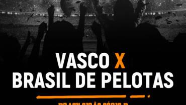 Vasco x Brasil de Pelotas (03/09): Dica de Aposta, escalações, onde assistir