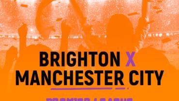 Brighton x Manchester City (23/10): Dica de Aposta, escalações, onde assistir