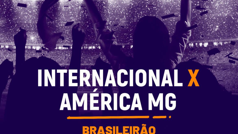 Internacional x América MG (13/10): Dica de Aposta, escalações, onde assistir