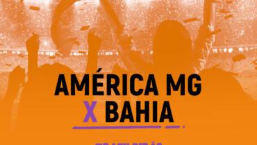 América-MG x Bahia (16/10): Dica de Aposta, escalações, onde assistir